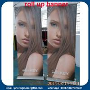 Quality 85x200cm Luxury Aluminum Retractable Banners for sale