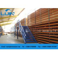 Industrial Storage Steel Rack Supported Mezzanine Floor Multi-level