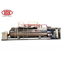 Buy 1 T/H Industrial Fire Tube Natural Gas Boiler , Diesel Oil Dual Fuel Fired Steam Boiler at wholesale prices