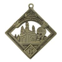 Buy cheap Lucky Meritorious Service Medal Nickel Plating Vintage Sports Medals from wholesalers