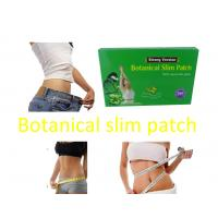 Quality Herbal Guarana Botanical Slimming Patches For Fat Burning new body slim wraps Strong Version MZT msv A1 for sale