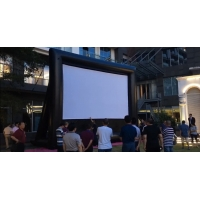Quality Outdoor Theater Outdoor Screen Removable Portable Air Projector Screen Inflatable Screen for Outdoor Cinema for sale