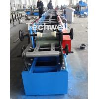 Buy Metal Stud And Track Roll Forming Machine , Sheet Metal Roll Former For Roof at wholesale prices