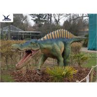 Quality CE , RoHS Giant Dinosaur Statue Model Exhibition For Dinosaur Park Display for sale