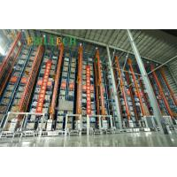 Quality Palletized Automated Storage And Retrieval System Custom Size Double Upright Structure for sale
