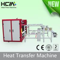 Quality Touch Screen Oil Heating Rotary T Shirt Transfer Press Machines With Digital Controller for sale