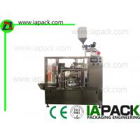 China Liquid Premade Pouch Packing Machine Rotary With Paste Filler on sale
