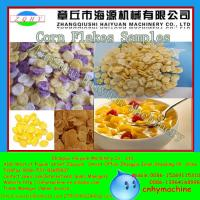 Quality Jinan 250-350kg/h Twin Screw Extruder Corn Flakes Machine for sale