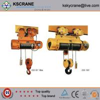Best Attractive and reasonable price CD/MD Small Wirerope Electric Cable Hoist wholesale