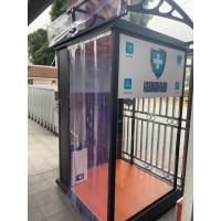 Quality sterilizing channel sterilization device portable cabin transparent cabine human disinfection system for sale