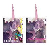 Quality Personalised Custom Printed Hang Tags For Kid Clothing Coated Paper Material for sale