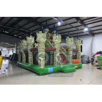 Quality Medieval Castle Themed Inflatable Playground for sale