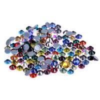 Quality Ss4 / Ss6 MC Glass Rhinestones , Flat Back Glass Crystals Eco - Friendly for sale