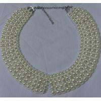 Best Various Circles Women Dress Chain and  Bead Collar OEM and ODM wholesale
