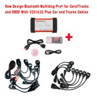 Quality New Design Bluetooth Multidiag Pro+ V2014.03 for Cars/Trucks and OBD2 with All cables for sale