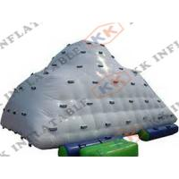 Best Giant Water Park Floating Wheel Inflatable Rock Climbing Wall PVC wholesale