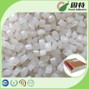 Buy cheap Bookbinding White Granule Coated Paper Spine Glue Hot Melt Pellet EVA Hot Melt from wholesalers