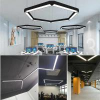 Quality Aluminum 15W 20W 36W Suspended Office LED Linear Pendant Light for sale