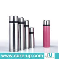 Buy cheap bullet pretty double wall SS fashionable thermos flask, sport stainless steel bottle from wholesalers