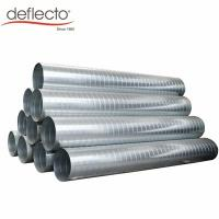 Quality Air Conditioning Stainless Steel Spiral Duct 12 Inch HVAC System Exhaust Hose for sale