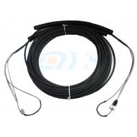 Best Pulling Eye Pre-terminated Optical Fiber Patch Cord , Multimode Fiber Patch Cable wholesale