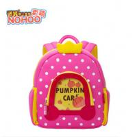 Quality Lovely Pumpkin Angel Design Neoprene Toddler Backpack With Dots for sale