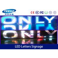 Best P6 1R1G1B LED Letters Signage , IP65 SMD LED Advertising Display Screen wholesale
