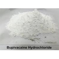 Quality Local Anesthetic Bupivacaine Hydrochloride Powder , Levobupivacaine Hydrochloride Powder CAS 14252-80-3 for sale