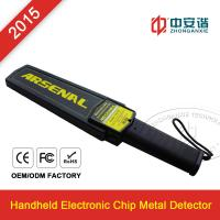 Quality Railway Station / Airports Small Hand Held Metal Detector For Personal Security Inspection for sale