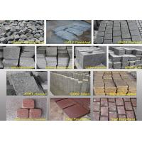 Quality Outdoor Garden Natural Paving Stones Basalt Cobble Stone Raw Material for sale