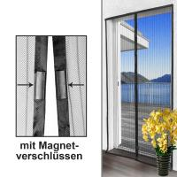 Quality Folding Breathable Magnetic Screen Door Curtain For Immediate Opening for sale