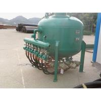 Quality shot blasting tank equipment for rust cleaning of steel pipe internal surface Shot spraying by pneumatic compressed air for sale