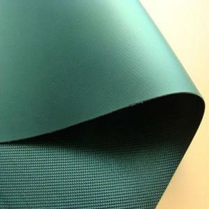 Quality Hot sales 8oz 300x500D 18x12 light grey taffeta PVC tarpaulin fabric for hospital mattress cover,pads,wheelchair cushion for sale