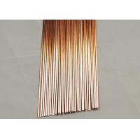Quality 0 Silver Lead Free Welding Copper Brazing Rod For AC High Flow Ability for sale