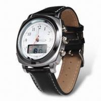 Quality Analog-digital Quartz Watch with 7-language Voice Function and 30m Water-resistant for sale