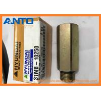 Quality 31M8-10250 CHECK VALVE Applied To Hyundai R55-9 R80-9 Excavator Parts for sale
