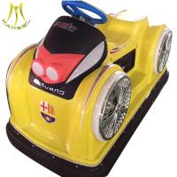 Buy cheap Hansel hot selling plastic battery operated used bumper car ride on go kart from wholesalers