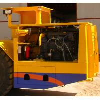 Buy Load Haul Dump Truck Underground Haul Truck / Mining Loader +/-40° Turning Angle at wholesale prices