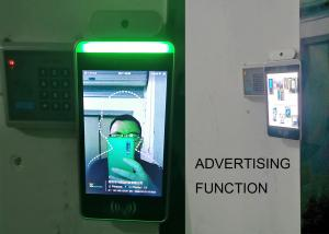 Quality Automatic Face Recognition Access Control Infrared Thermometer with Temperature Sensor Attendance Record function for sale