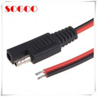 China 2 Pin Quick Disconnect Wire Harness With SAE To SAE 2 Pin Sae Connector on sale