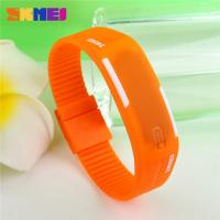 Quality Unisex Comfortable Led Digital Sport Watch Silicone Strap With Japan Battery for sale