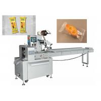 Quality Auto Small Pie Pillow Wrapping Machine Electric Driven Type High Efficient for sale