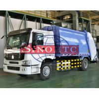 Quality HOWO Compactor Waste Collection Trucks 12 -15m3 Volume 4x2 Driving Type for sale