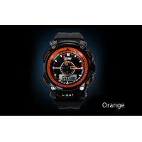 Quality 5 ATM Analog Digital Wrist Watch ABS Case LCD Display Wrist Watches for sale