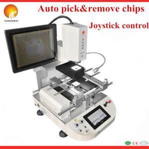 Best New design 110V/220V auto bga rework mobile station WDS-620 laser BGA rework station with video wholesale
