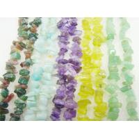 China Handmade Jewelry Mix Color Facted Round Semi Precious Chip Stone Bead 16mm on sale