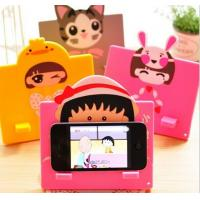 Quality Large Cartoon Cell Phones Accessory , Silicone 14 x 11cm Universal Tablet PC Stand Holder for sale