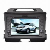 Quality Special HD 7-inch Double DIN Touchscreen Car DVD GPS Navigation System for Kia Sportage 2011 for sale