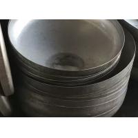 Quality ASTM Head Forming Process  Q245R Conical Dished Head , Steel Cone Dished Head for sale