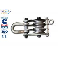 Quality Alternative Steel Wire Rope Pulley Block , Stringing Iron Rope Pulley Block for sale